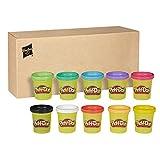 PlayDoh 29413F03 0 10er Pack, Knete für fantasievolles und kreatives Spielen, tolle Farben für Kinder ab 2 Jahren in recycelbarer Verpackung, Multicolor