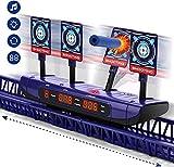 Dreamy Cubby Zielscheibe für Nerf, Beweglich Digital Elektronische Wertung Automatisches Zurücksetzen Digitale Ziele Spielzeug für 6 7 8 9 10 Jahre