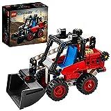 LEGO 42116 Technic Kompaktlader Spielzeug, Bagger oder Hot Rod 2-in-1 Set, Baufahrzeug-Modell