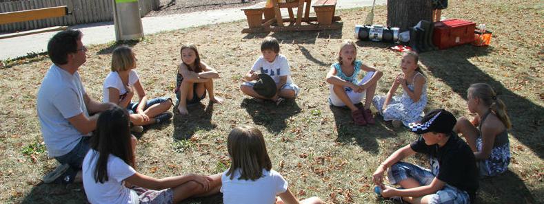 Kinderparty Spiele für draußen