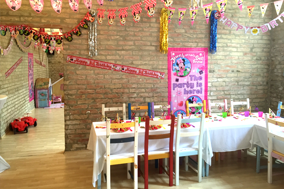 Kinderparty Geschirr