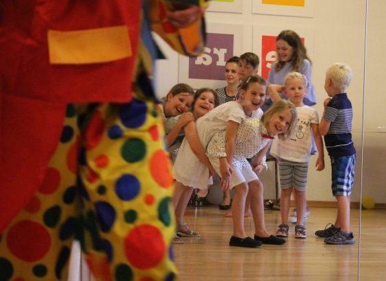 Kinderparty Zirkus