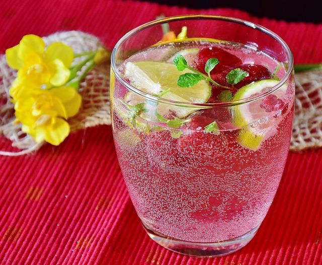 Himbeer Limonade