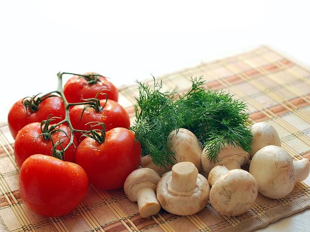 Eier Tomaten Pilze