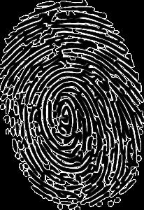 Detektiv Fingerabdruck