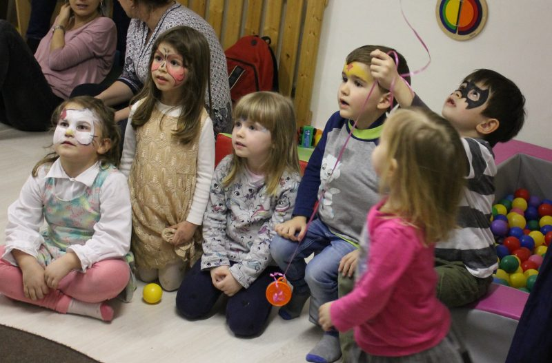 Kinderparty Winter