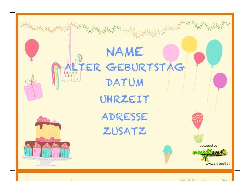 Kinder kostenlose einladungskarten geburtstag Einladung Geburtstag