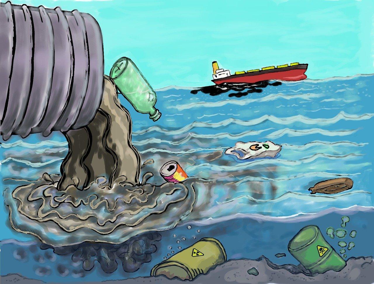 Umweltverschmutzung ist nicht nachhaltig