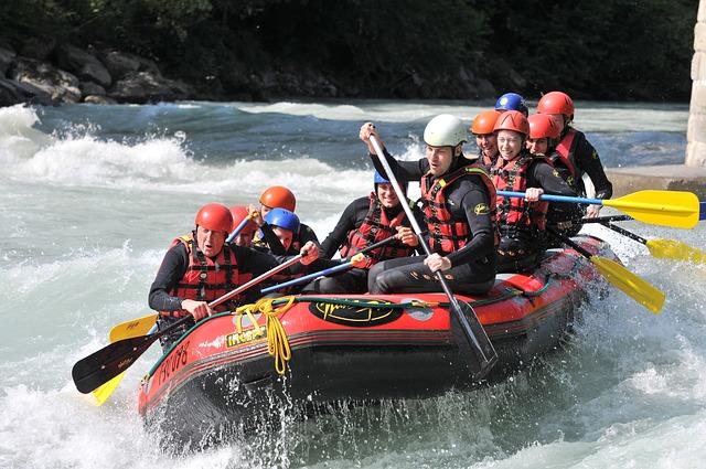 Wildwasser-Rafting