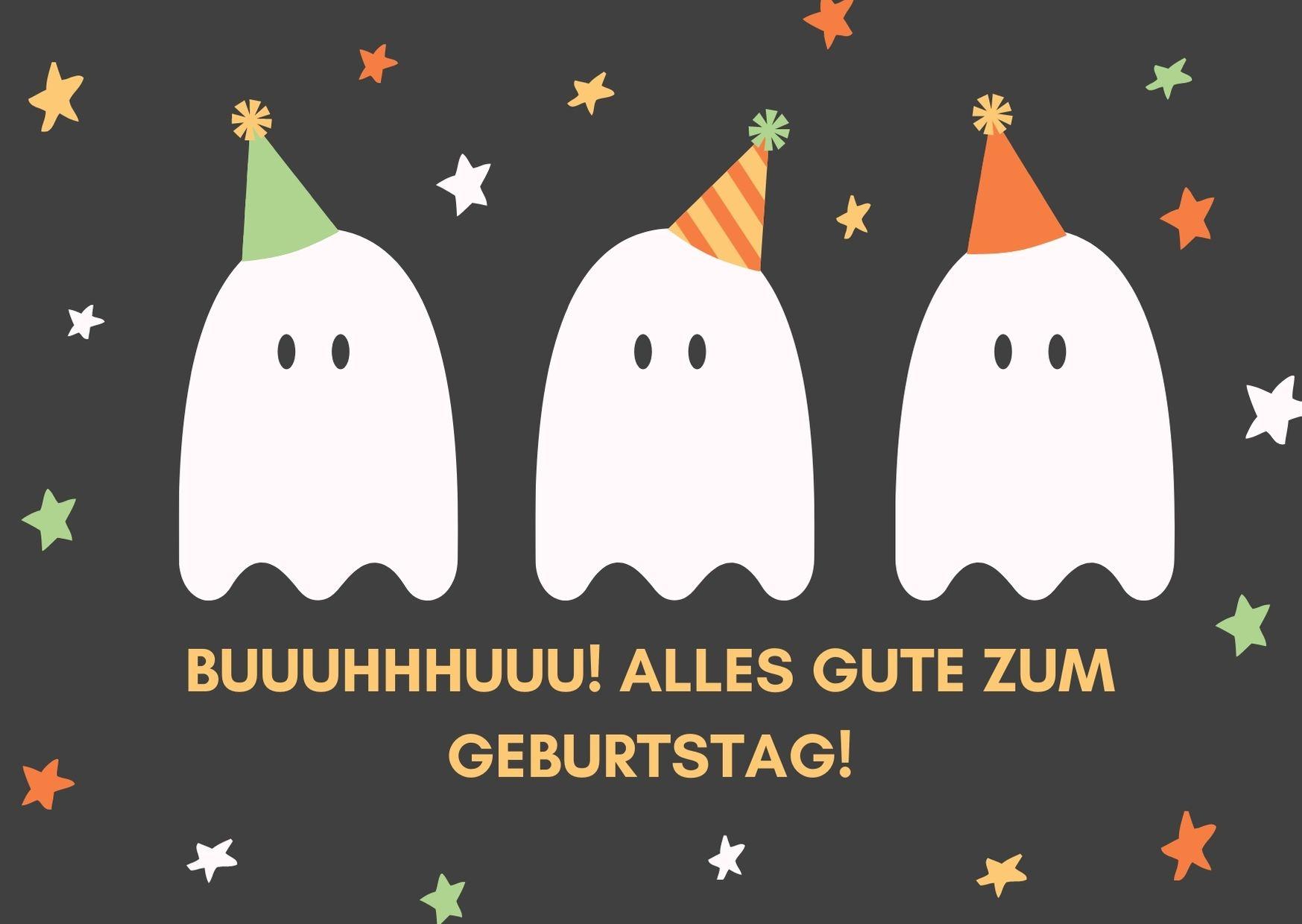 Alles Gute zum Geburtstag Geist