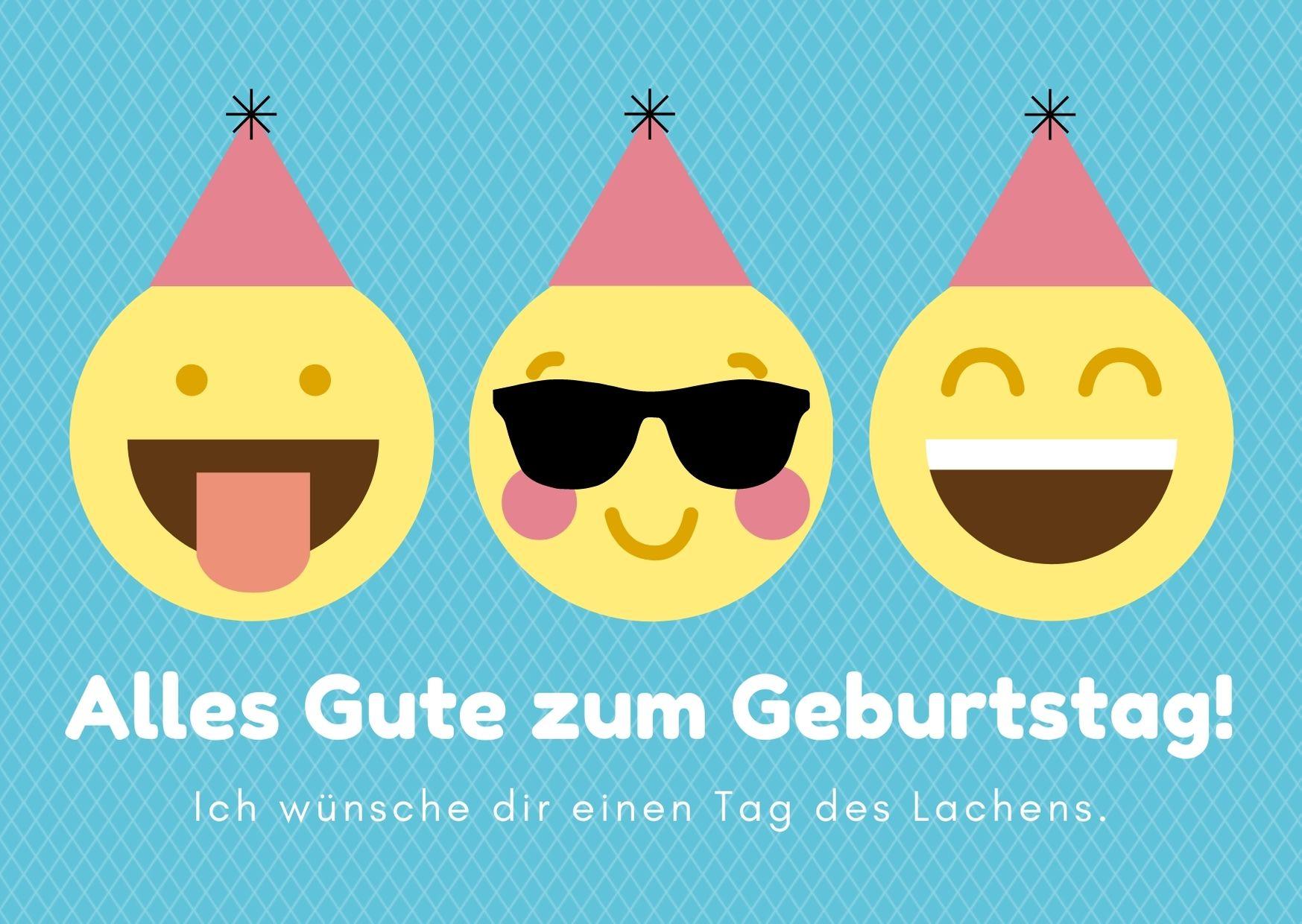 Alles Gute zum Geburtstag Lachen